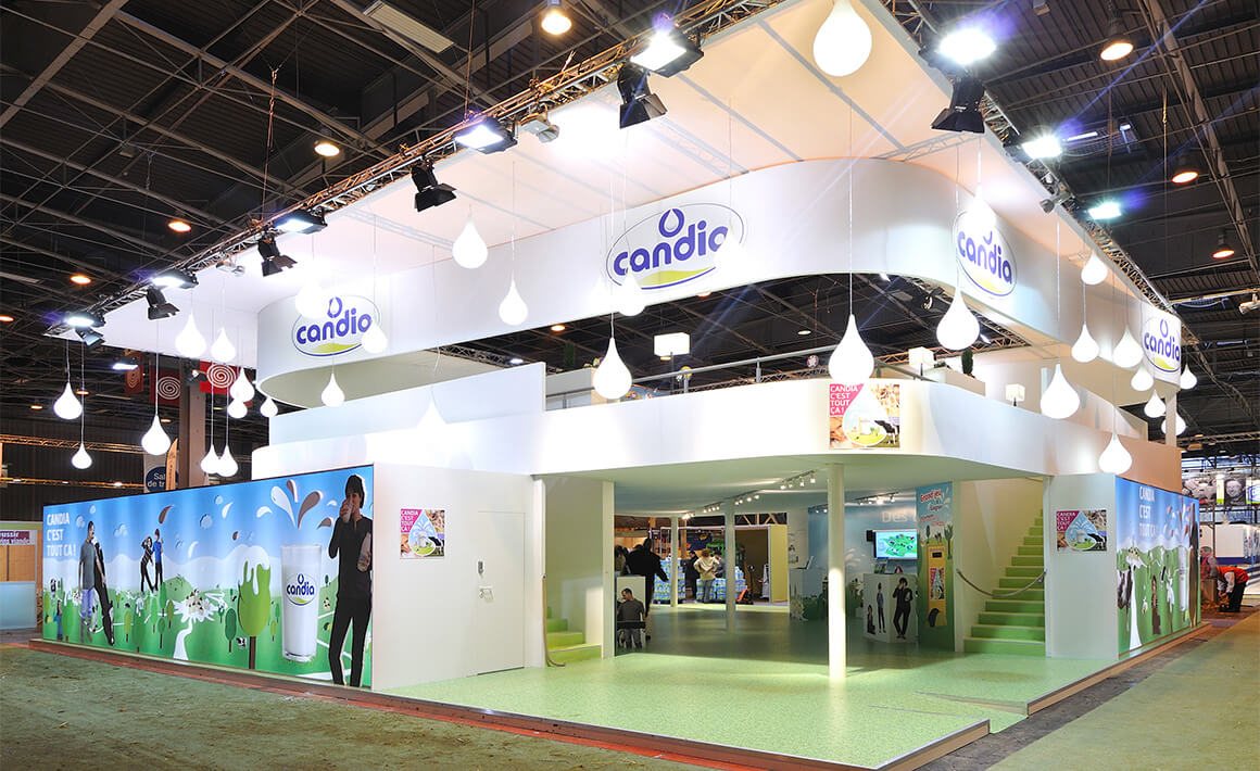 Stand SIA CANDIA – Athénée Concept 1