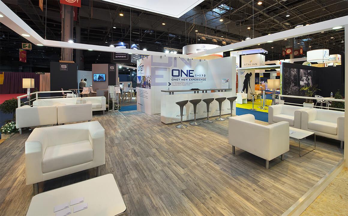 Stand EUROPROPRE 2015 pour ONET – Athénée Concept 4