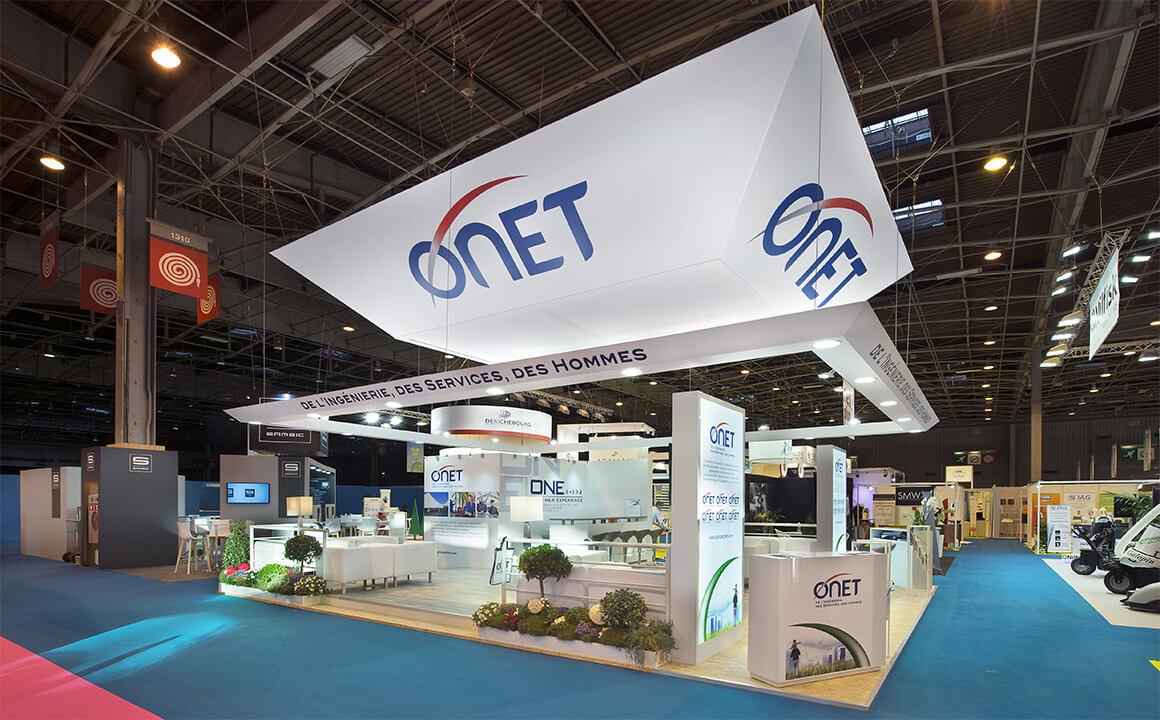 Stand EUROPROPRE 2015 pour ONET – Athénée Concept 1