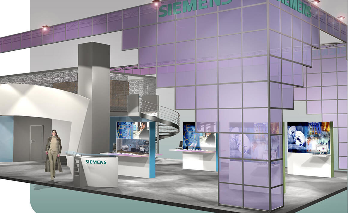 Stand Expoprotection Siemens - Athénée Concept -1