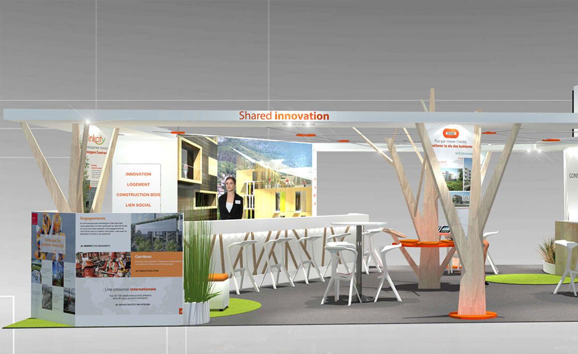 Athénée Concept pour Bouygues Construction
