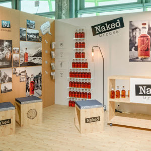 Salon du Whisky – NAKED GROUSE